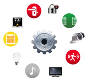 smart home tech circle