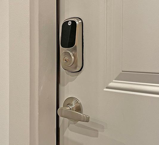 electronic deadbolt security