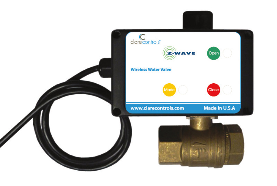 water sensor and valve