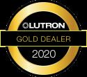LUTRON-Gold Dealer Logo